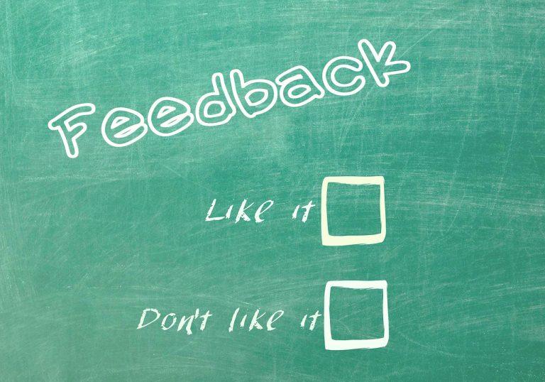 Come usare i feedback, anche se sono negativi.
